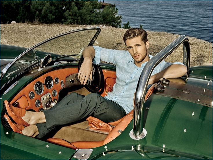 Edward Wilding is a chic vision for Autason's spring-summer 2018 campaign.