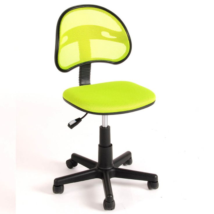 Aingoo Breathable Office Computer Chair without Arms Fabric Pads Swivel Height Adjustable 360 Degree Rotating Wheel Office Chair