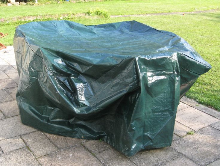 Bentley Large Tarpaulin Garden Furniture Set Waterproof Green Cover
