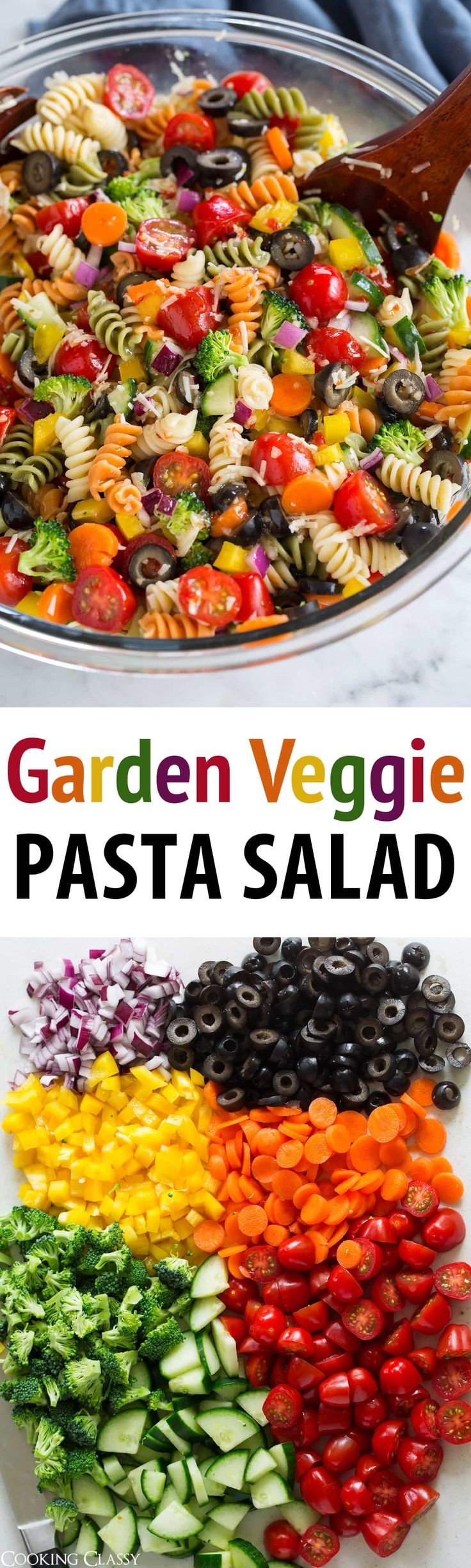Pasta Salad is one of those staple recipes that's …