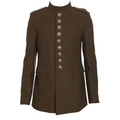 Фото - Одежда в стиле милитари – жакеты осень-зима 2010-2011.