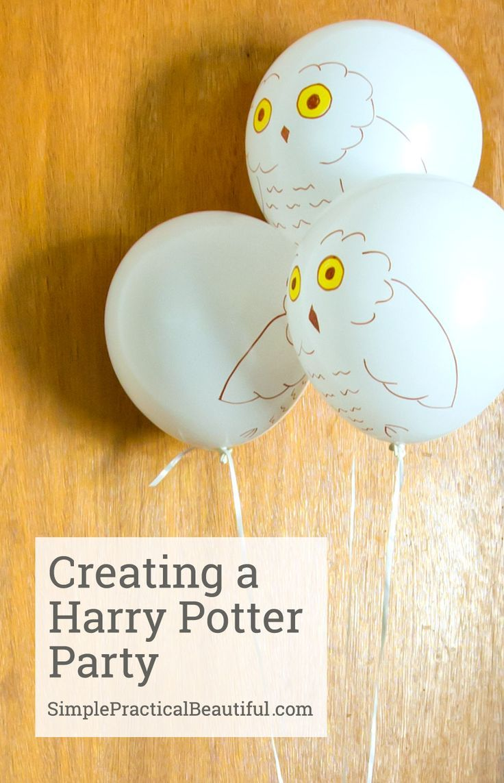 Harry Potter party | http://SimplePracticalBeautiful.com