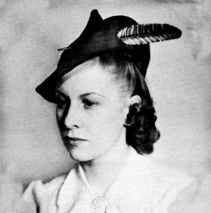 36 Best 1940s Hats Images On Pinterest Vintage Knitting