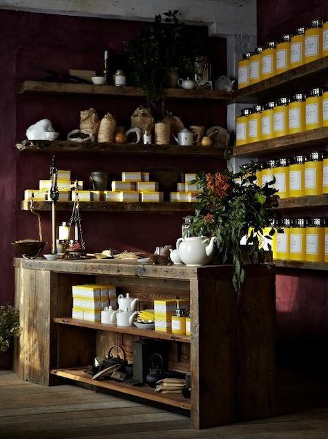 Tea shop in Brooklyn http://remodelista.com/posts/hotels-lodging-restaurants-bellocq-tea-atelier-opens-today-in-brooklyn