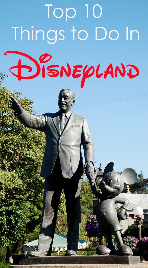 Disneyland Top 10 at www.dakotacreekchic.com