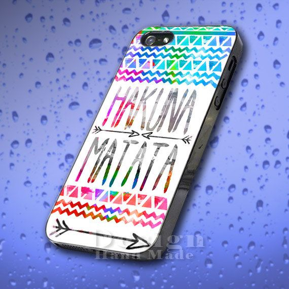 Hakuna Matata, Aztec Style for case phone, iPhone 4/4s,iPhone 5,5s,5c, Samsung Galaxy S2,S3,S4 on Etsy, £9.35