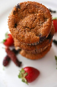 Gluten-Free Blueberry Corn Muffins | yummy whole foods (not all paleo ...