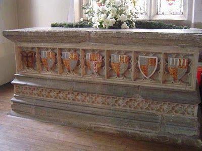Plantagenet Dynasty: Genealogy & History: The Body of a Prince: Edmund of Langley, 1st Duke of York, 1341-1402 Church of All Saints, Kings Langley