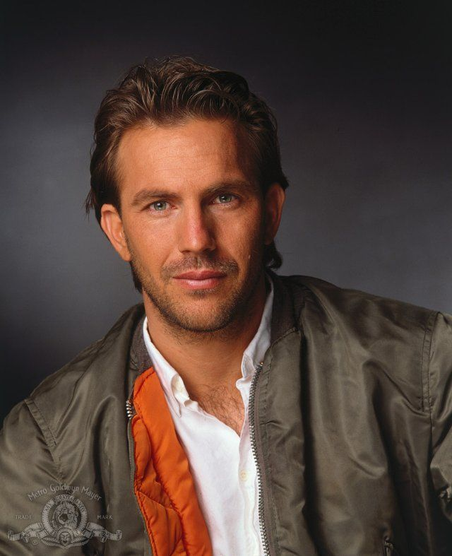 Kevin Costner was very handsome.