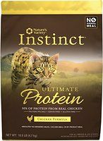 Nature's Variety Instinct Ultimate Protein Chicken Formula Grain-Free Dry Cat Food, 10.5-lb bag