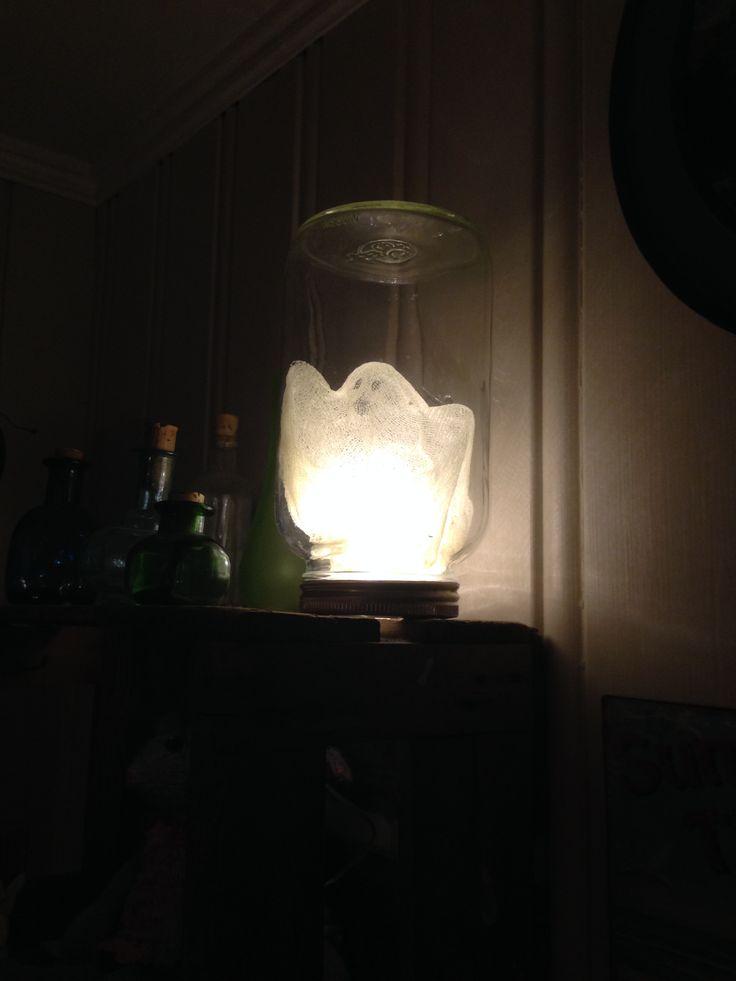 fanget spøkelse