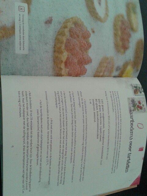 Taartbodems voor tartelettes. Uit het boek : Goed zoet door Nanne Hogeland.