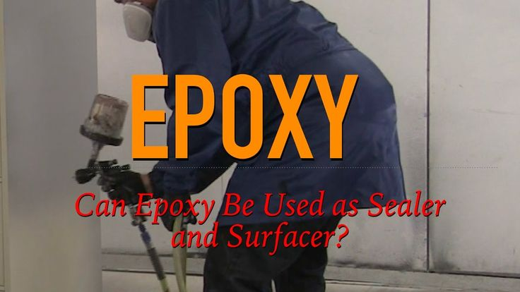 Can Epoxy Be Used For Surfacer and Sealer? Q&A Video