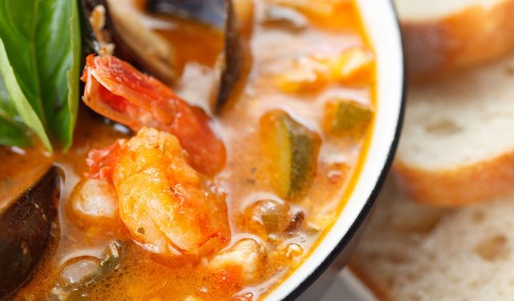 zuppa di pesce - chowder  http://www.venetoesapori.it/it/protagonista/ristorante-san-martino  #food #italy #venice #typical