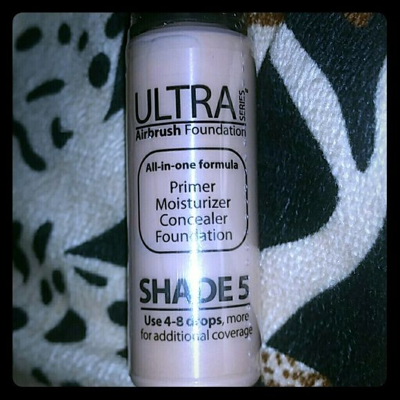 Luminess air airbrush make - up. UNOPENED Shade 5 ,ULTRA airbrush makeup, for use with luminess air makeup system! luminess air Makeup
