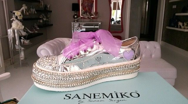 Gelin ayakkabısı by Sanemiko- wedding shoes- bridal -istanbul- Türkiye- Turkish brand- Turkey-