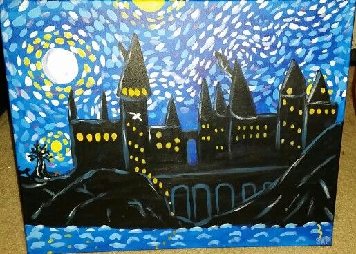 The 91 Best Harry Potter Images On Pinterest Starry Nights Stuff And Painting Art