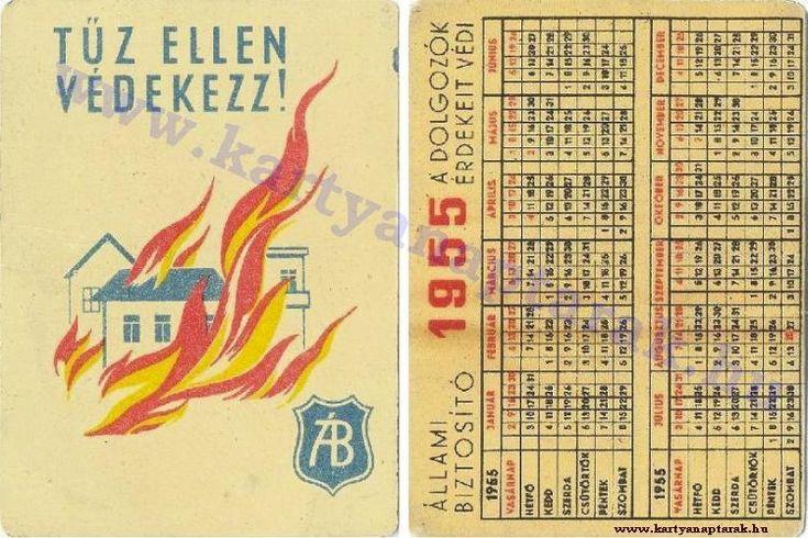 1955 - 1955_0019 - Régi magyar kártyanaptárak