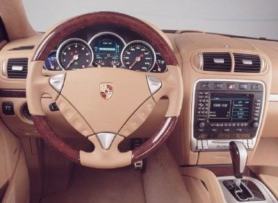 Porsche Cayenne Turbo S cabin interior. I typically care more about the exterior looks of the vehicle, but I think you also do spend some time inside the car as well LOL