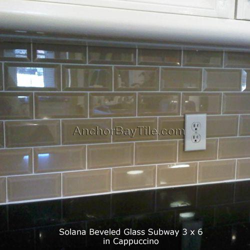 Taupe Subway Tile Glass Subway Tile Backsplash Subway Tile