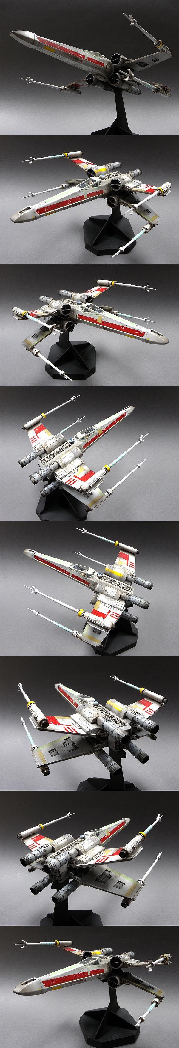 X-Wing 1/32 Scale Model  Dan ganas de subirse y ponerlo a volar... ;-)