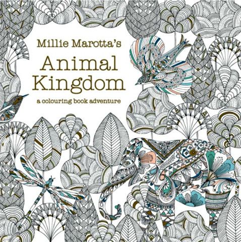 Colour Me Draw By Millie Marotta Buy A Discounted Paperback Of Marottas Animal Kingdom Online From Australias Leading Bookstore
