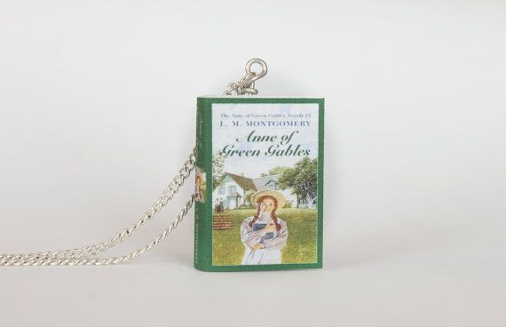 Etsy listing at https://www.etsy.com/listing/160609758/anne-of-green-gables-miniature-book