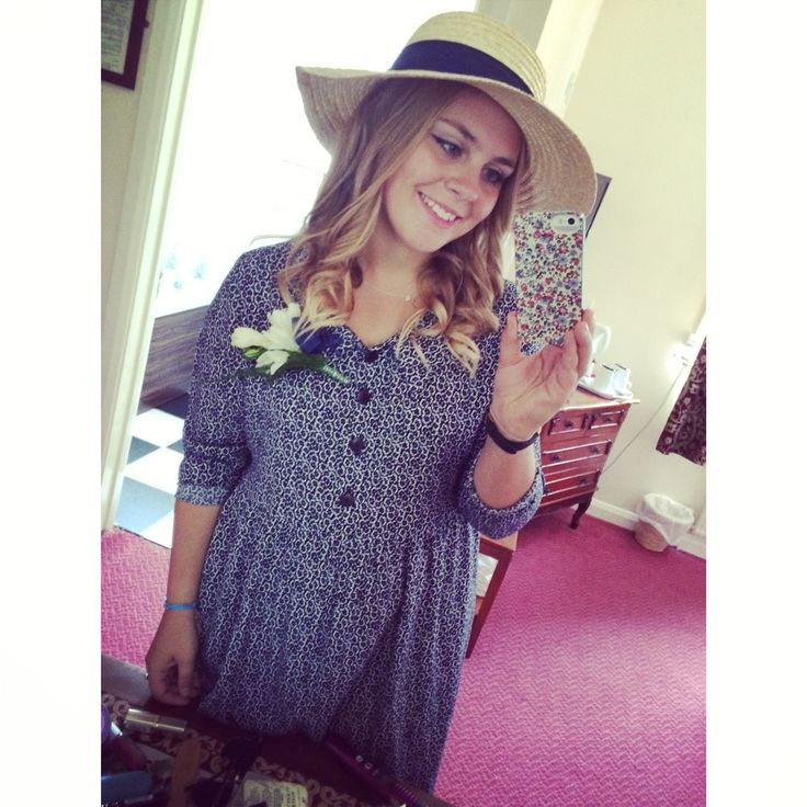 Cousins Wedding - Vintage Inspired Outfit 2014