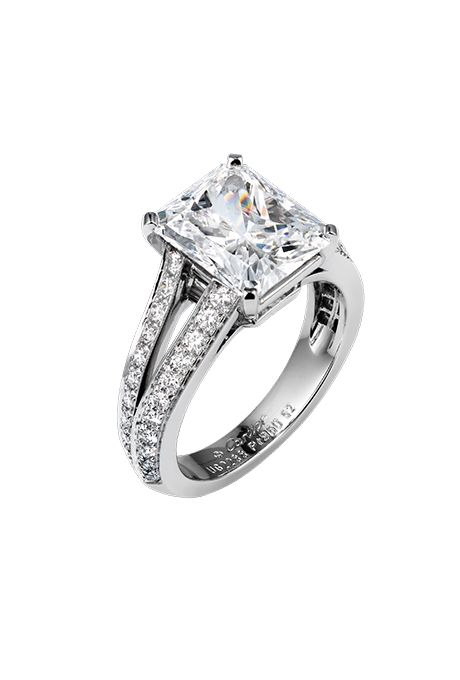 Radiant Cut Engagement Rings D R O O L I N G Engagement