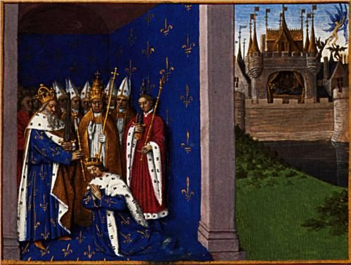 Coronation of Louis the Pious - Jean Fouquet