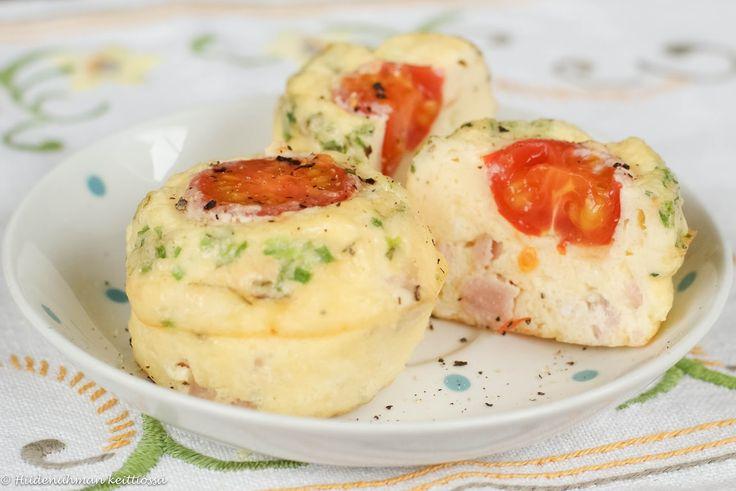 Muffinssimunakkaat ovat suloisia pikkumunakkaita, joita on helppo laittaa tarjolla ja vielä helpompi poimia lautaselle. Niitä voi tarjota...