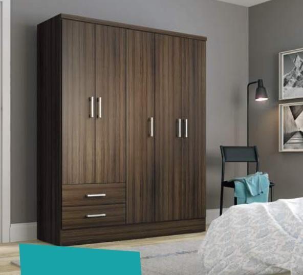 Ropero 585 Ebano Bedroom Cupboard Designs Tall Cabinet Storage Home Bedroom