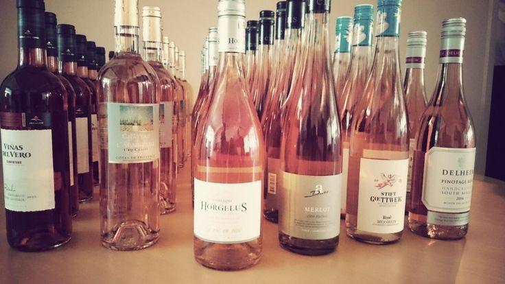 Rosé Wein = Frauenwein? Ich bin eine Frau, ich bin blond und ich...
