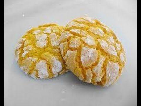BISCOTTI AL LIMONE fatti in casa - Homemade Lemon Cookies - YouTube
