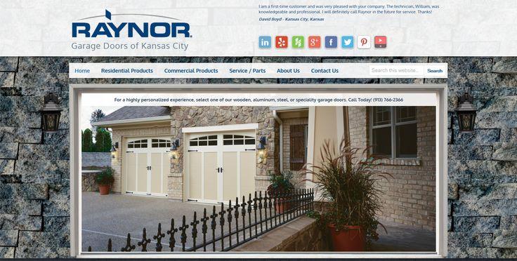 Raynor Garage Doors of Kansas City - Residential and Commercial Garage Doors in Kansas City Metro - http://www.raynorkc.com/