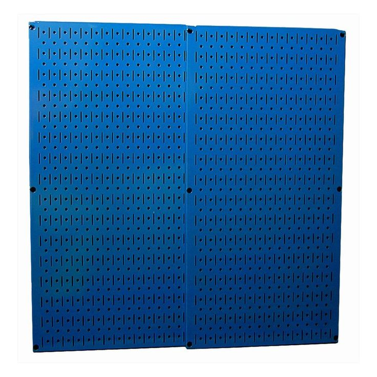 wall control 2 piece steel pegboards actual 16 in x 32 on wall control id=79959