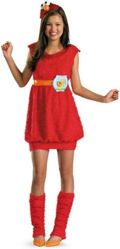 Disguise Sesame Street Elmo Teen Girls Costume XLarge1416 >>> Find out more about the great product at the image link.