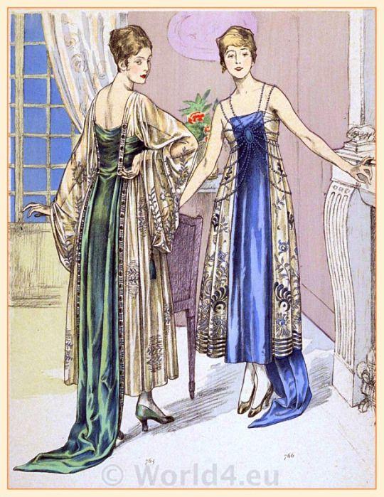 366 best fashion illustrations 1900 1920 images on for Art deco era clothing