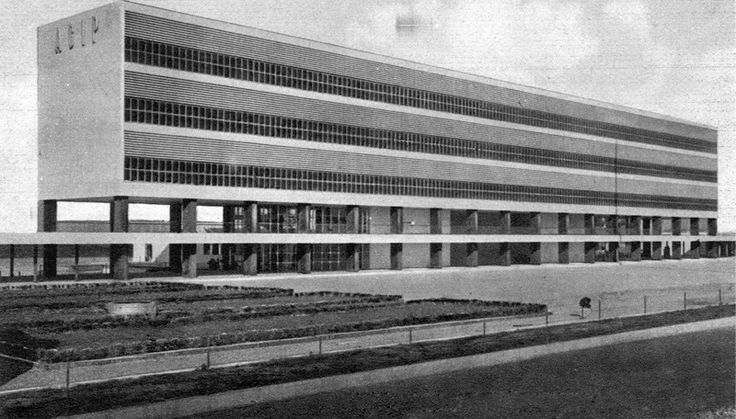 "Colonia Marina ""Sandro Mussolini"" (AGIP) Cesenatico, Giuseppe Vaccaro, 1936-38"