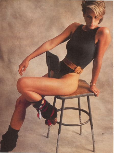 Jamie Lee Curtis in the film Perfect - my diet motivation picture in the 80s www.greennutrilabs.com