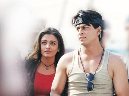 SRK. Shah Rukh Khan. Ashwariya Rai. Josh.