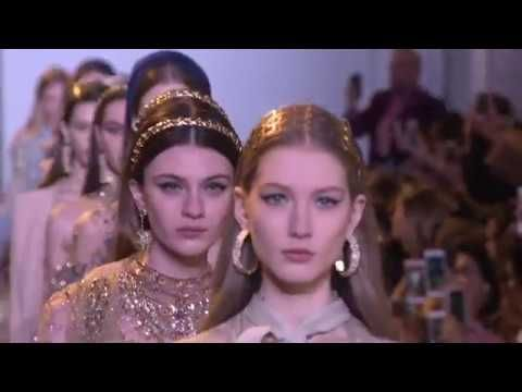 ELIE SAAB Haute Couture Spring Summer 2017 Fashion Show