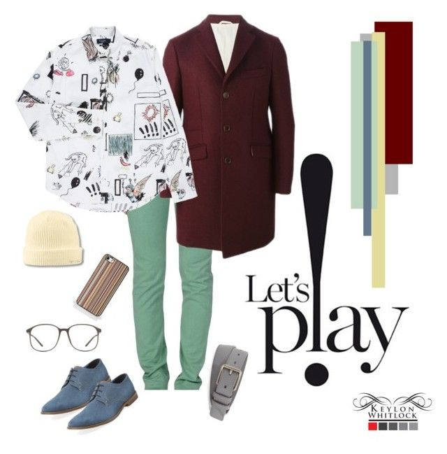 Let's P!ay by keylonwhitlock on Polyvore featuring polyvore, Paul Smith, Roÿ Roger's, Al Duca d'Aosta, Ben Sherman, Atlantis Caps, Burberry, men's fashion, menswear and clothing