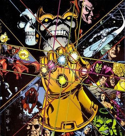 The Infinity Gauntlet: Jim Starlin, Graphic Novels, George Perez, Marvel, Comic Books, Infinity Gauntlet, Comicbook, Comics
