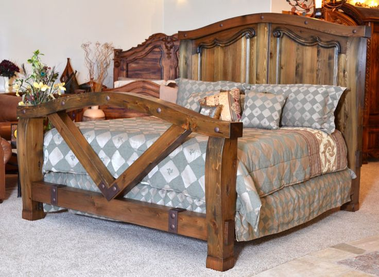Lodge Style Bedroom Furniture: 17 Best Images About WESTERN/RUSTIC FURNITURE On Pinterest