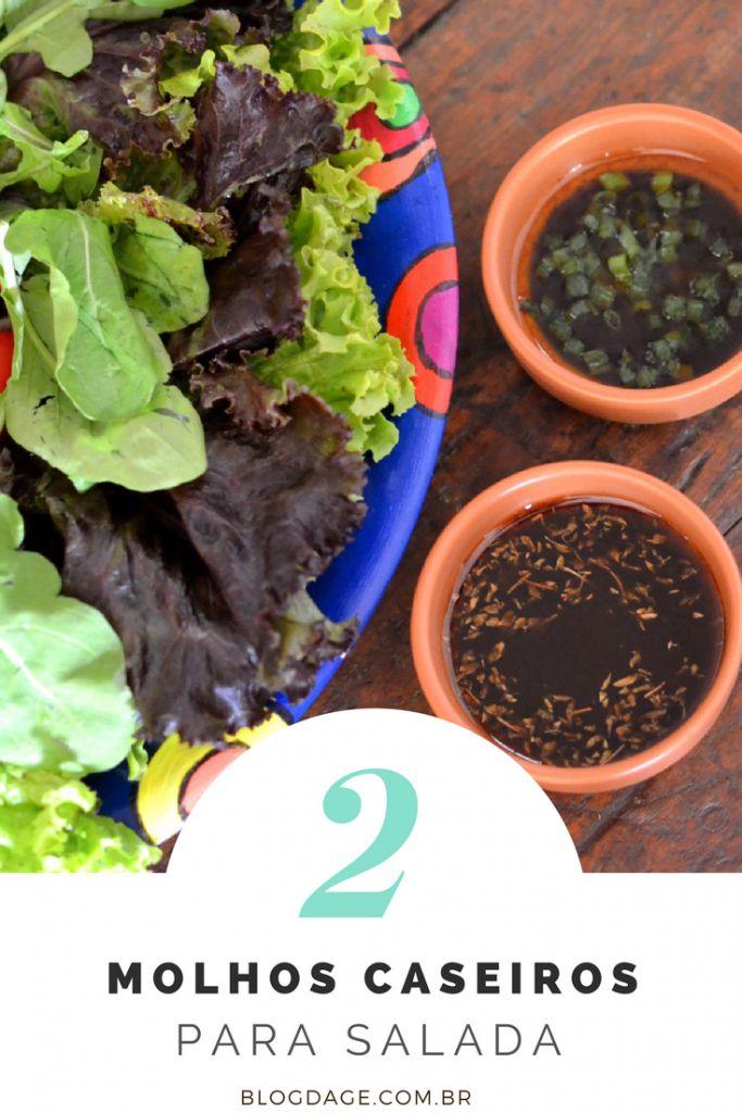 Dois simples molhos para salada verde que você vai adorar - Blog da Ge