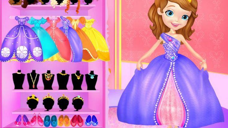 Disney Princess Sofia Makeover Video Play-Girls Games Online-Dress Up Games
