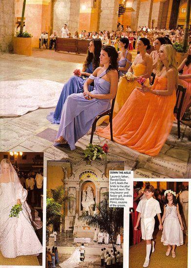 Lauren Santo Domingo wedding