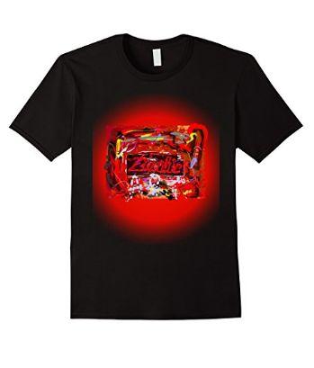 Art Zombie T Shirt by Don Robbins- Newc T Shirts.