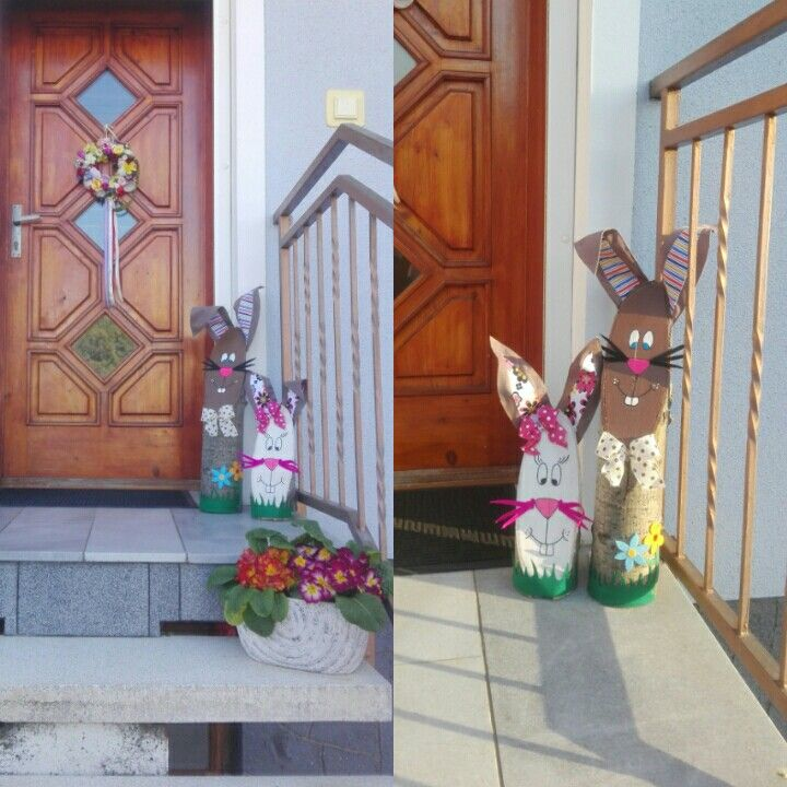 Door decore / For Easter  - Spring 🌻🐣